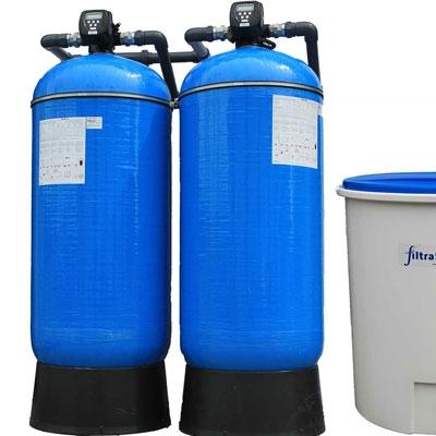 Wasserenthärter für Industrie und Gewerbe
